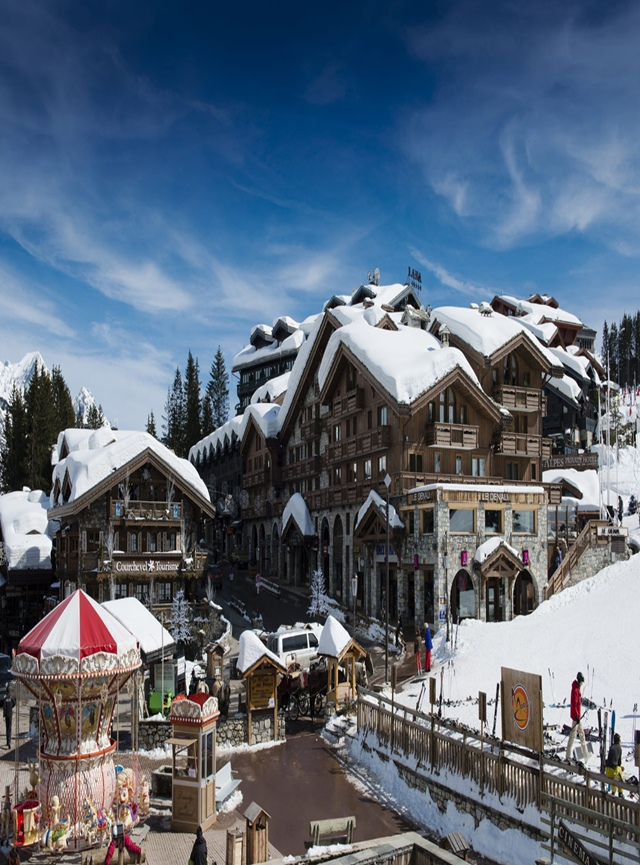 L' Apogée Courchevel nos Alpes Franceses