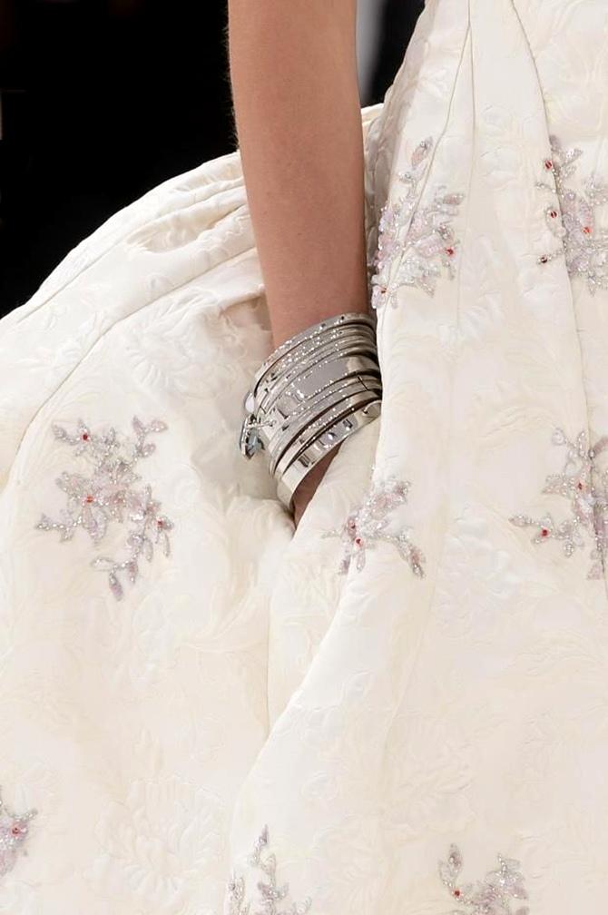 150.000 orquídeas brancas na apresentação da Christian Dior fall 2014