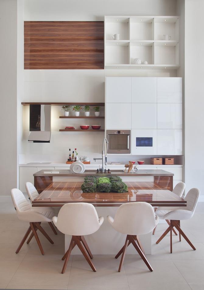 Cozinhas com pé direito alto – Inspire-se