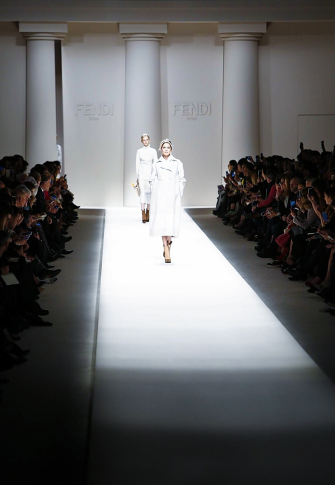 Fendi Fall / Winter 2015 | Tempo da Delicadeza