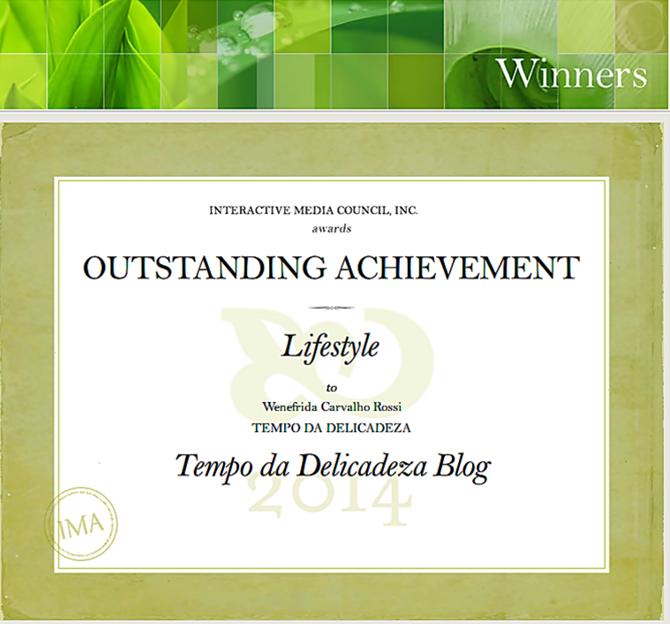 IMA Award | Tempo da Delicadeza