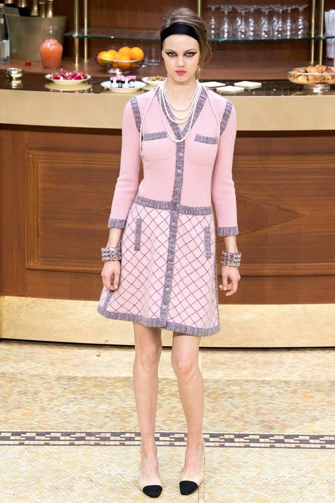 Chanel Fall 2015 | Tempo da Delicadeza
