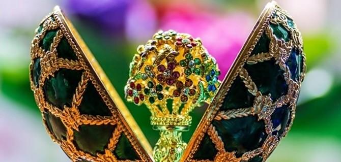 Ovos Russos Fabergé