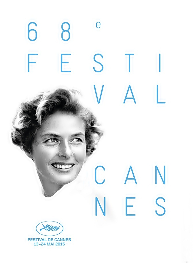 Ingrid Bergman é homenageda no 68º Festival de Cannes