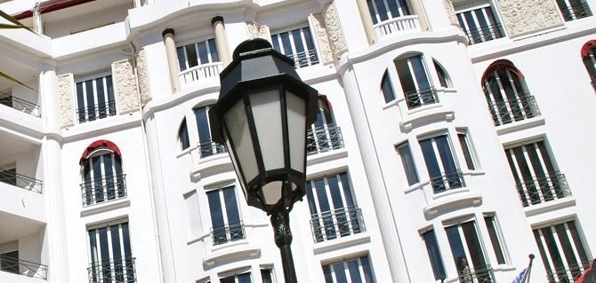 Hotel Majestic Barrière Cannes, Glamour na Côte D'Azur
