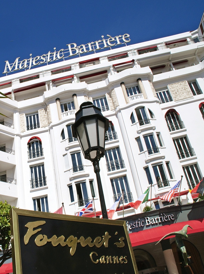 Hotel Majestic Barrière , Cannes