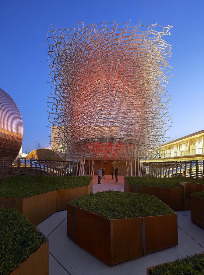 Expo Milan 2015 | Uk Pavilion designed by Wolfgang Buttress