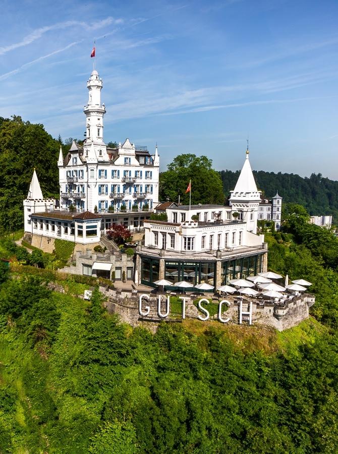 Château Gütsch by Martyn Lawrence Bullard
