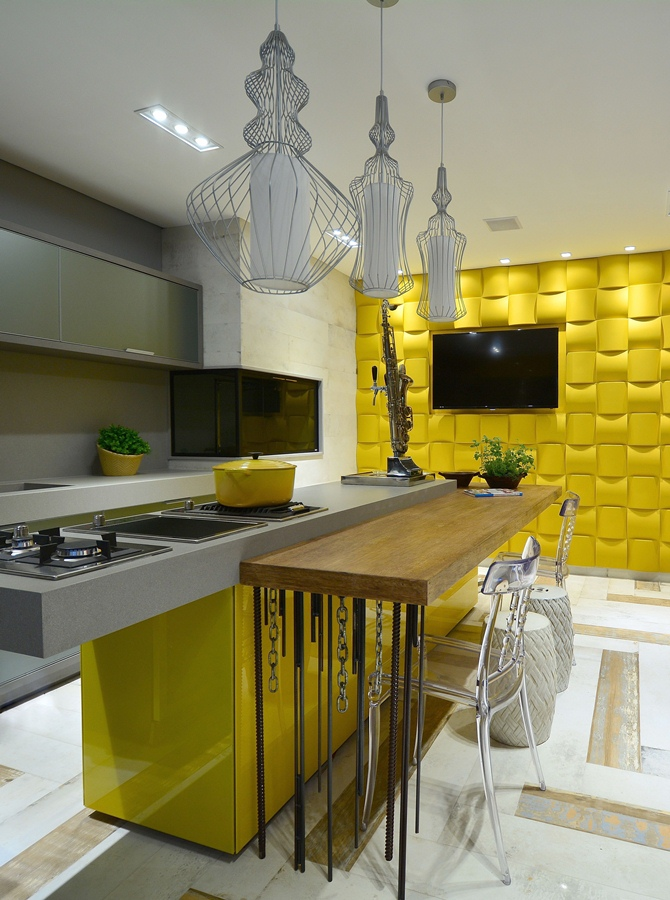 Contemporary Kitchen - Tempo da Delicadeza