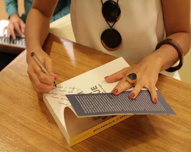 Book signing Amanda Rossi