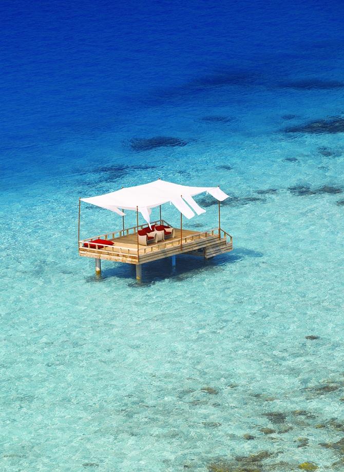 Baros é a essência das Maldivas