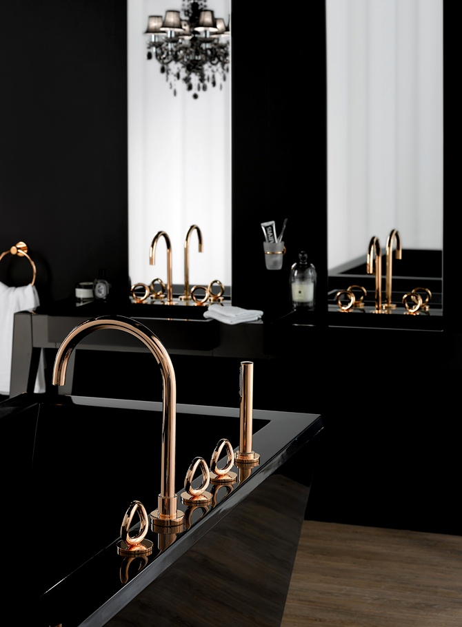 rose gold tend ncia de design tempo da delicadeza. Black Bedroom Furniture Sets. Home Design Ideas