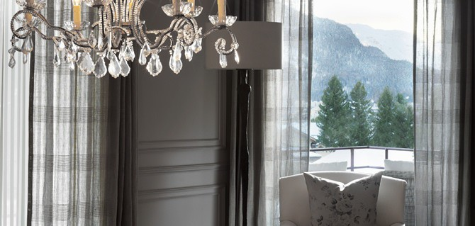 Kelly Hoppen assina Chalé na Suíça