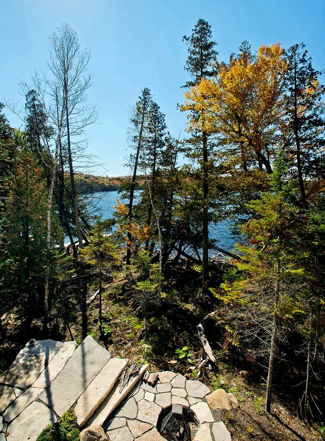Retreat on the shores of Gate Lake - Tempo da Delicadeza