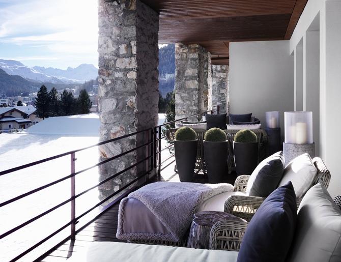 Swiss Chalet by Kelly Hoppen - Tempo da Delicadeza