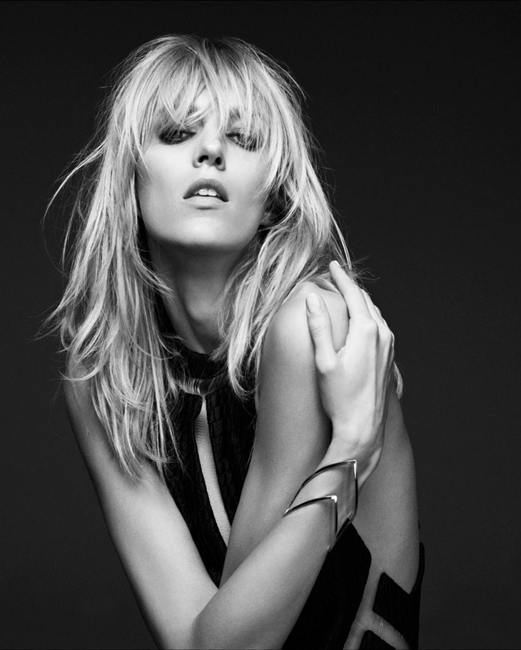 Anja Rubik, the new face of Kérastase