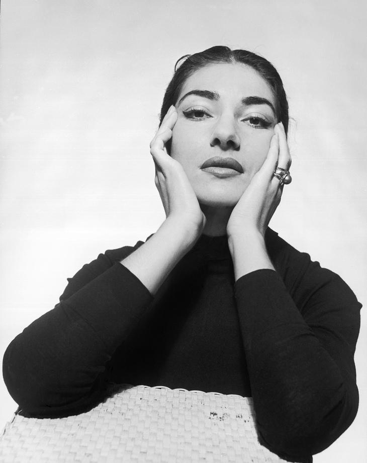Maria Callas e Terry O'Neill