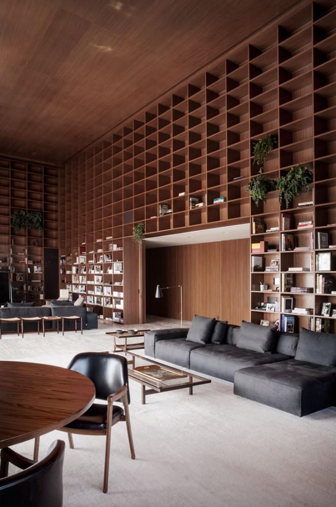 marcio kogan assina penthouse em s o paulo tempo da. Black Bedroom Furniture Sets. Home Design Ideas