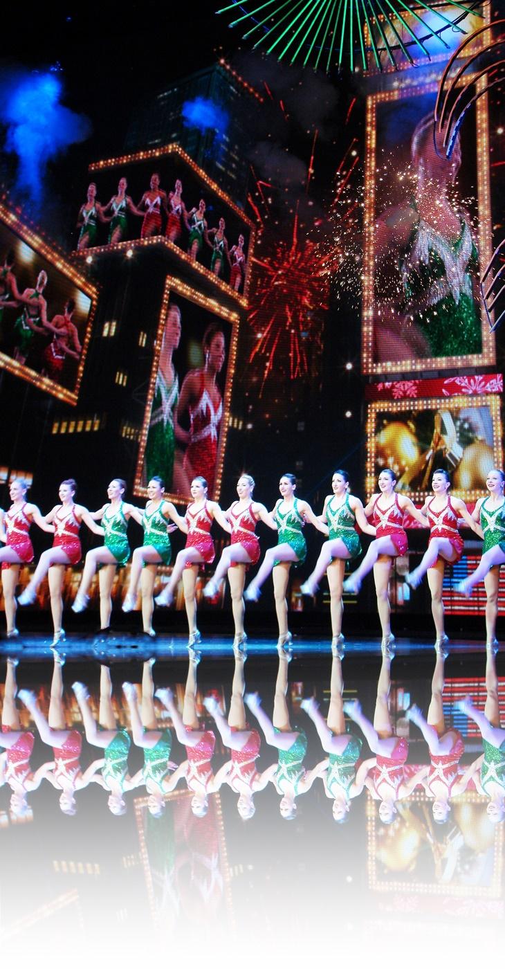 Natal iluminado em Nova York