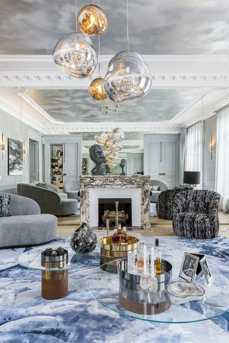 Apartamento Avenue Marceau por Gérard Faivre