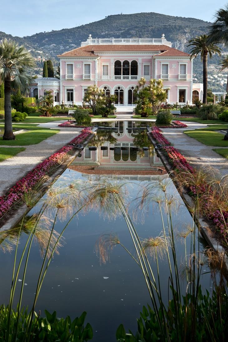 Os jardins da villa ephrussi de rothschild tempo da for Jardin villa rothschild