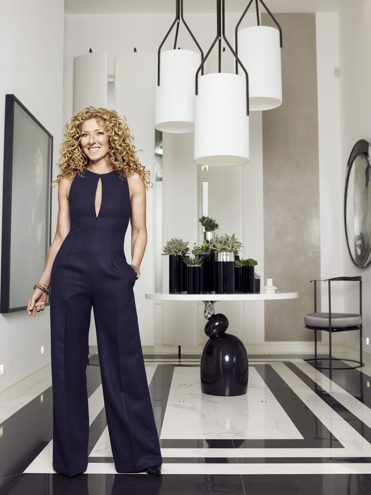 Kelly Hoppen at home