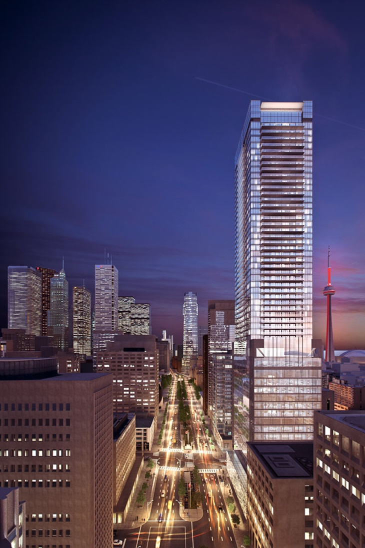 The Residences of 488 University Avenue - Toronto