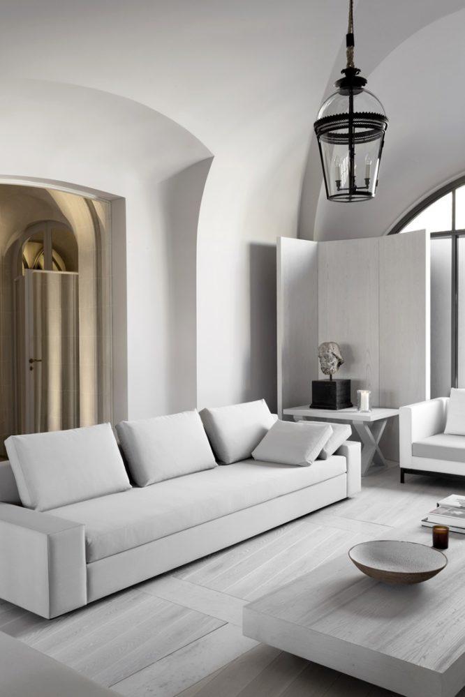 Apartamento Minimalista por Guillaume Alan